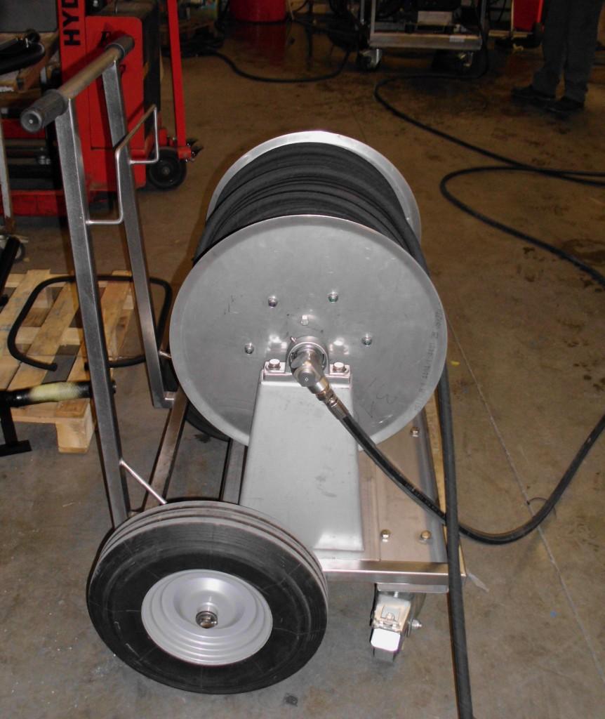 Dévidoir très haute pression Zone 1 ou zone 2 Longueur du flexible : 100 m